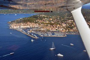 Saint-Tropez vanuit de lucht