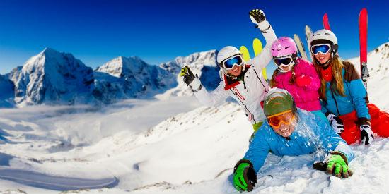 Hotel snelweg wintersport