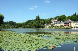 Het meertje van Pierrefonds