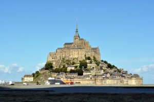 Mont Saint-Michel in volle glorie
