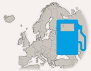 Brandstof prijzen Europa